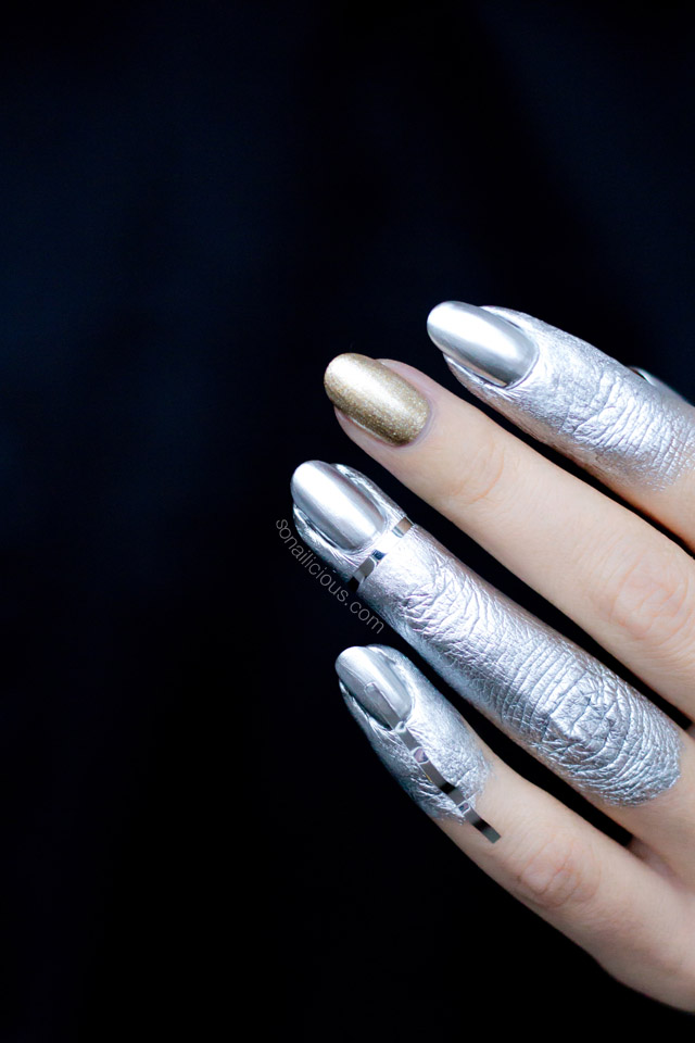 Dipped In Silver Nails || NAFW 2016 - Day 7