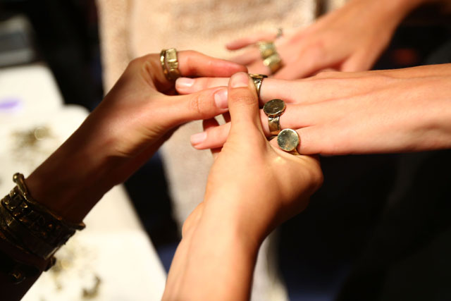 nails and rings Zhivago 2016, Mercedes-Benz Fashion Week Australia 2016