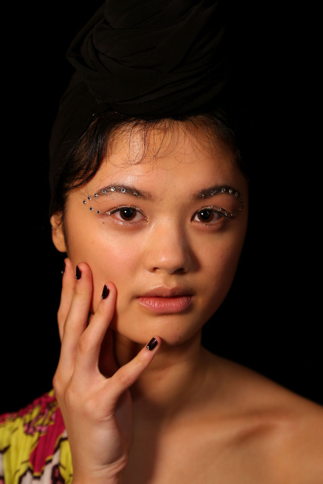 makeup and nails Tome 2016 - Backstage - Mercedes-Benz Fashion Week Australia 2016
