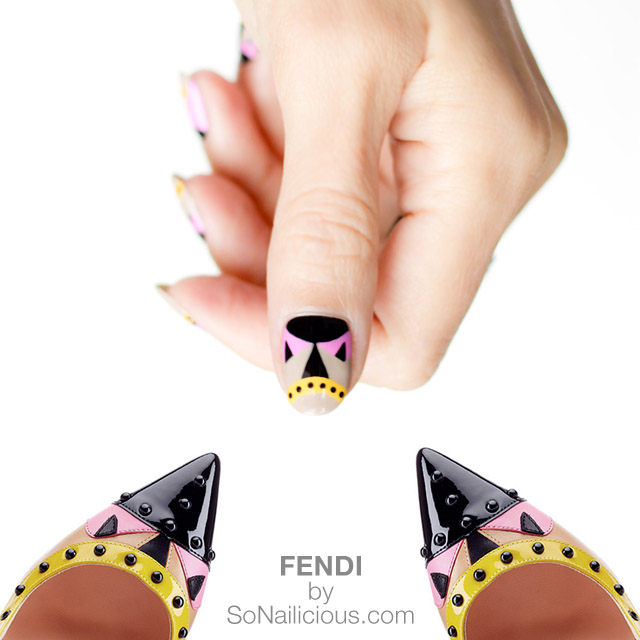 FENDI BAG BUGS, fendi pumps