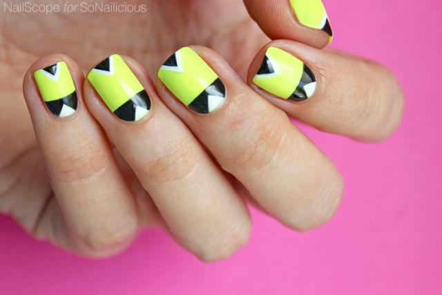 Neon Nails DIY Summer