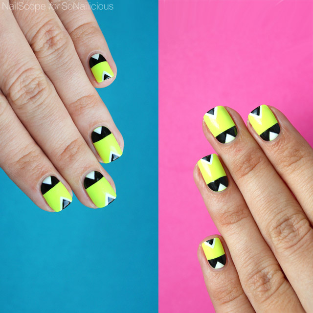 Neon nails diy neon nail art sonailicious neon nails diy neon nail art prinsesfo Choice Image