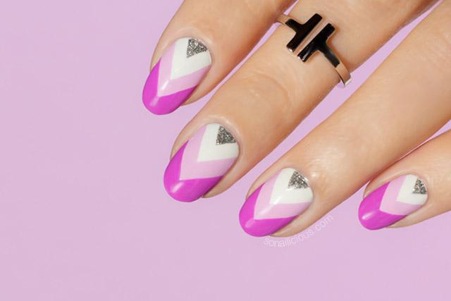 purple nails, purple nail art