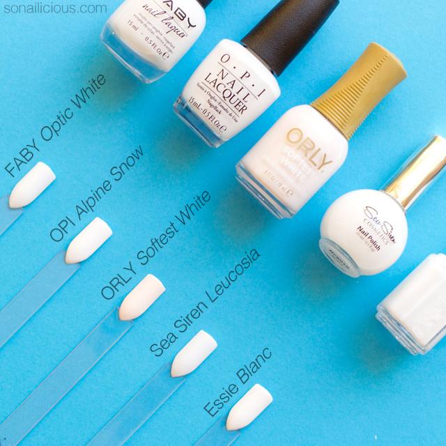 Top 5 white nail polishes prinsesfo Choice Image