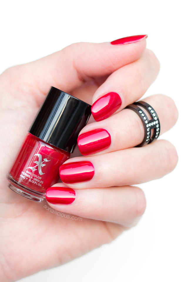 kat von d adora, red nails