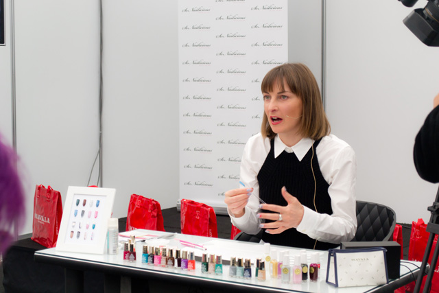 nail art workshop, beauty expo australia