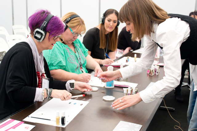 nail art workshop, maria vlezko, 2