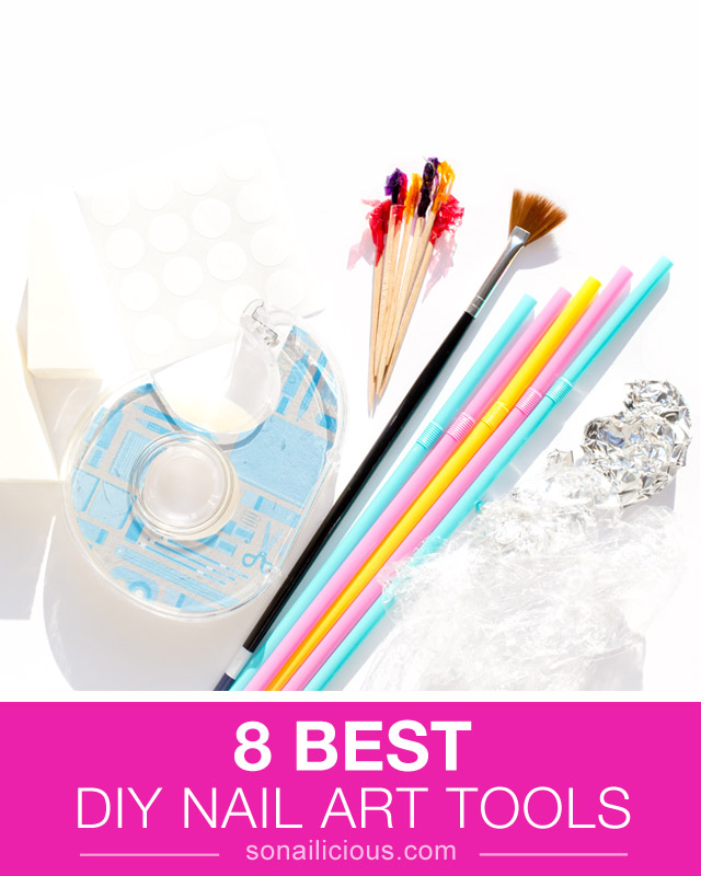 8 Brilliant DIY Nail Art Tools That Are Hiding In Your Drawer