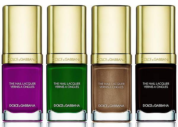 dolce gabbana wild about fall 2016 nail polish collection