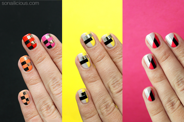 funky nail art, funky nails, nail art tutorials