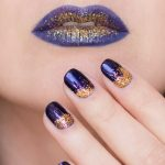 Golden Witch: Halloween Makeup & Nails