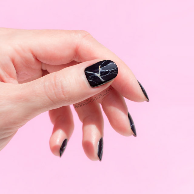 black marble nails, marble stone nails