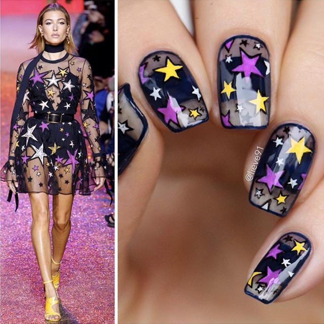 Elie Saab inspired nails by Anja
