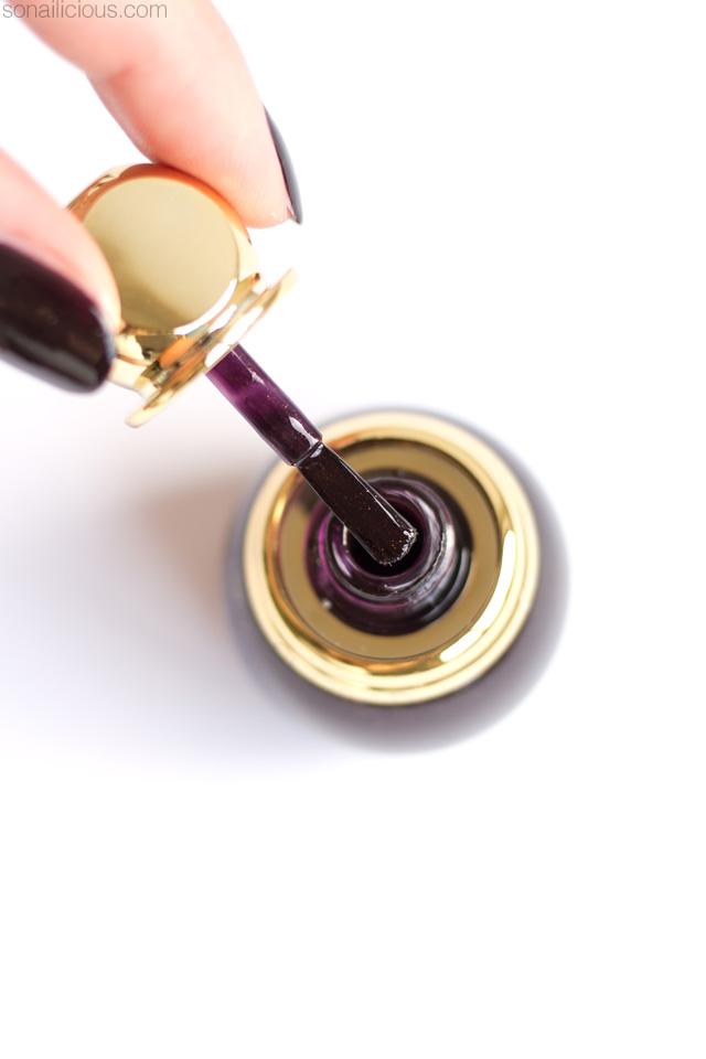 diorific nail polish brush