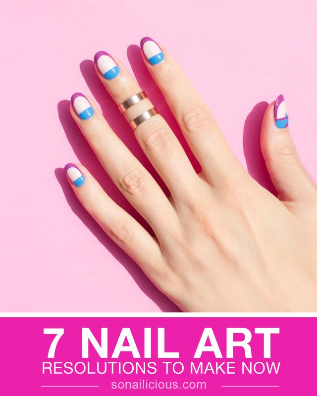 2017 nail art resolutions