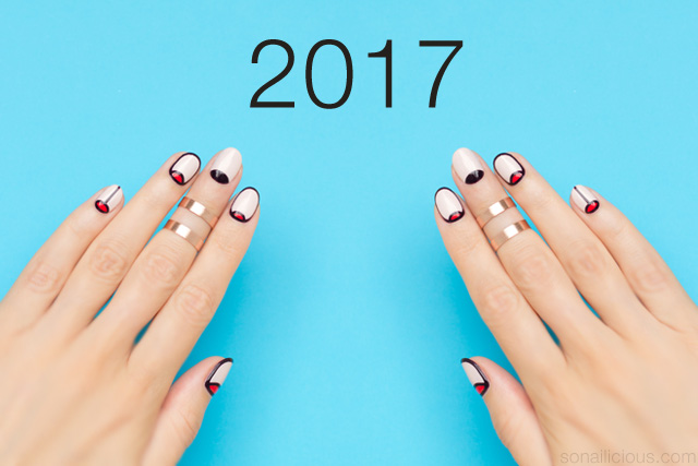 nail art resolutions 2017