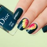 Marble Flower Nail Design ft. Dior Now