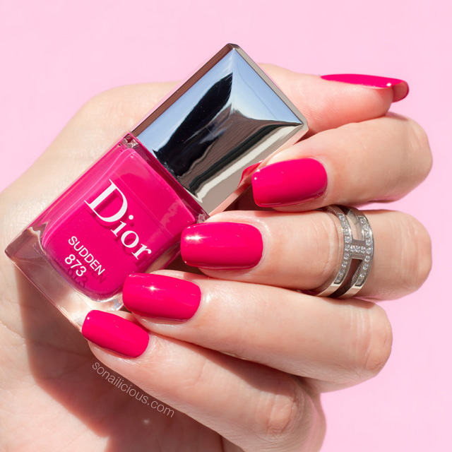 Nail Polish Swatch Book: Power Of Pink Nail Design Ft. Dior Sudden