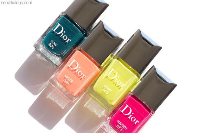 dior spring 2017 nail polish, dior vernis