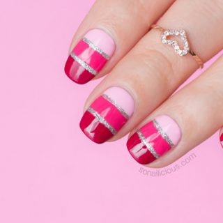 valentine's day nail art, mavala nail polish