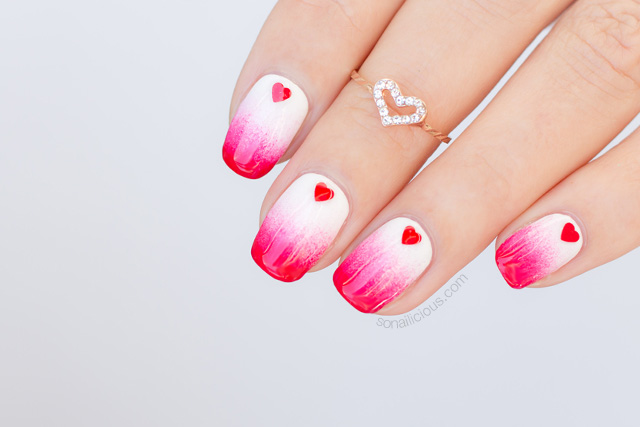 Valentines Nails Valentines Day Nail Art 112 Sonailicious
