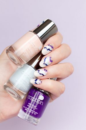 GEODE NAILS, MARBLE NAILS