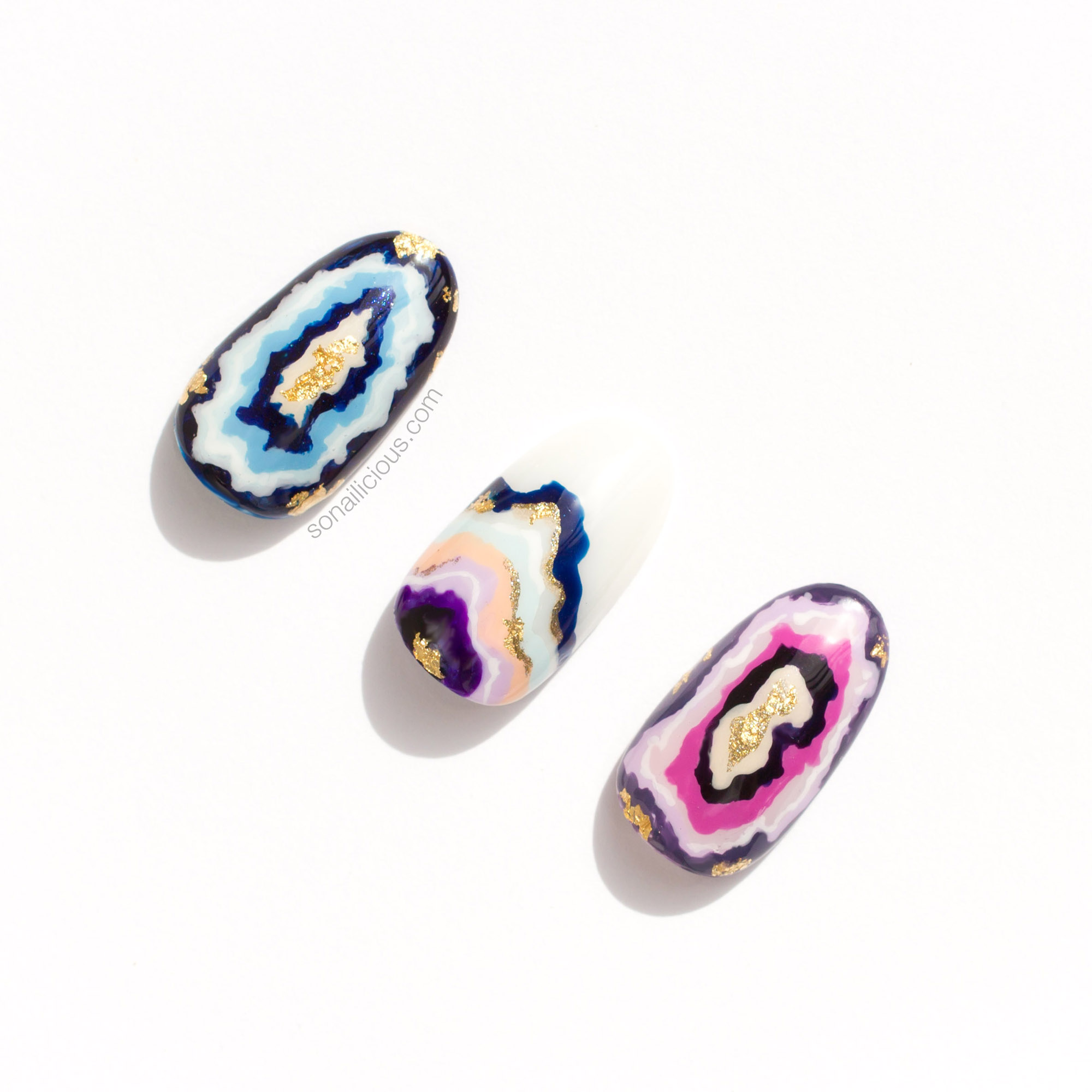 Geode nails - possible options