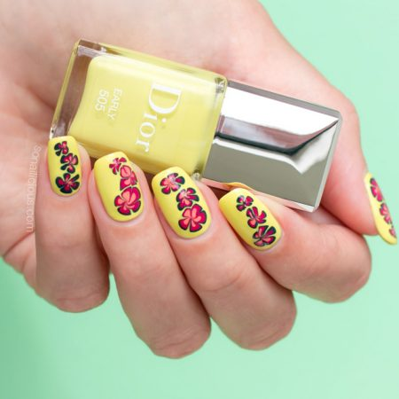 spring nails, dior early swatches review