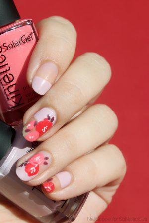 spring nails 2017, floral nails