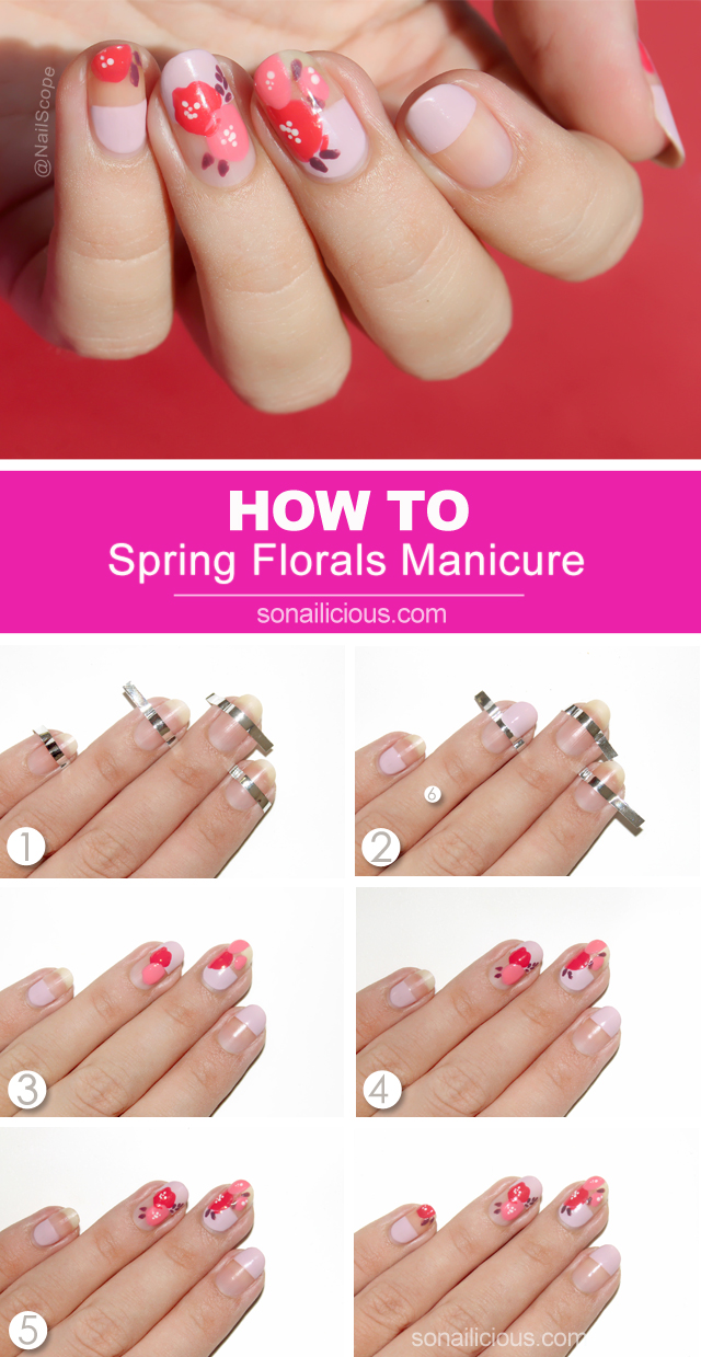 spring nails how to