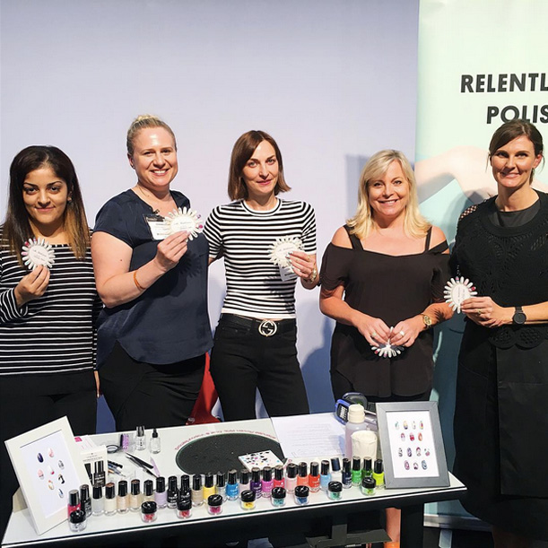 trend nail art masterclass, young nails australia