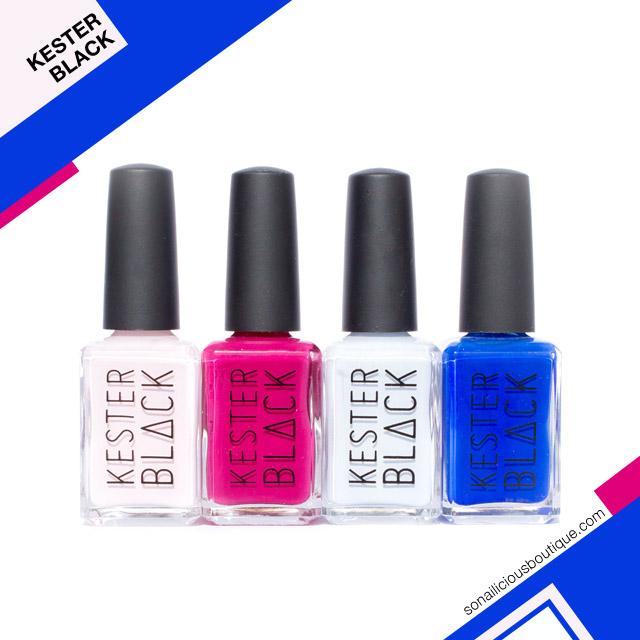 vegan nail polish, kester black spring 2017 nail polish