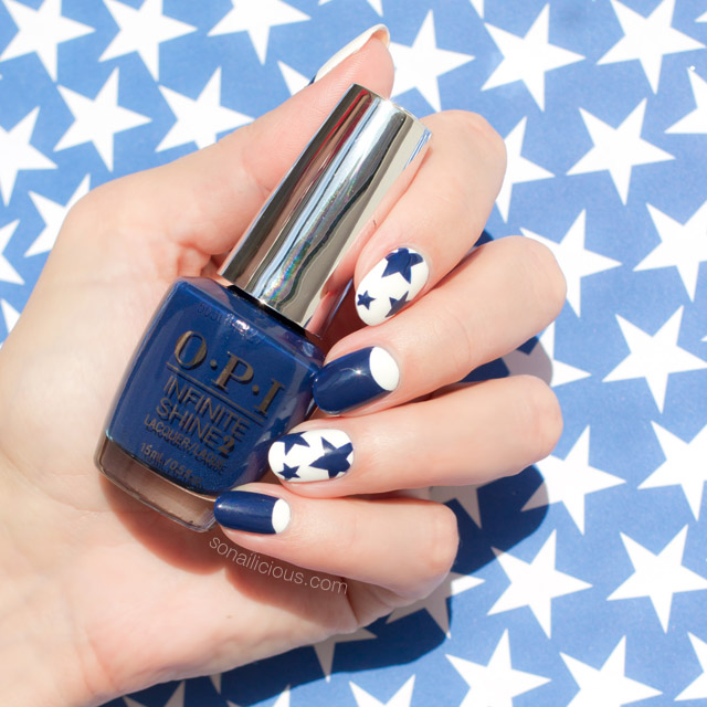 Star Nails, OPI Infinite Shine Get Ryd-of-thym Blues