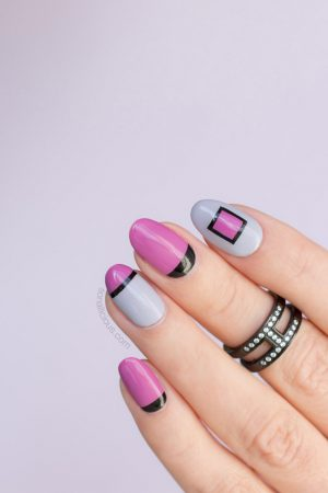 fall nail designs, elegant fall nail art