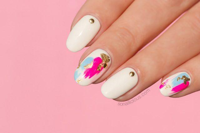 Foil Nails Japanese Nail Art Sonailicious