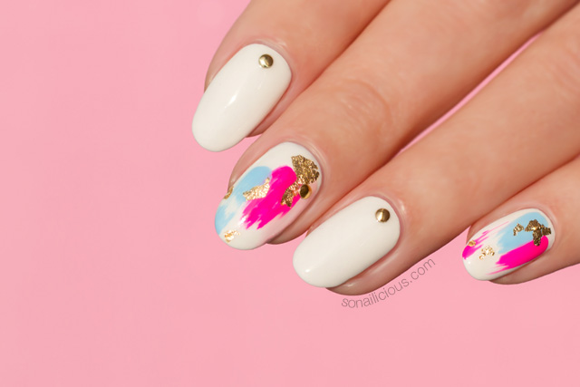Japanese Style Foil Nail Art Like Youve Never Seen Before