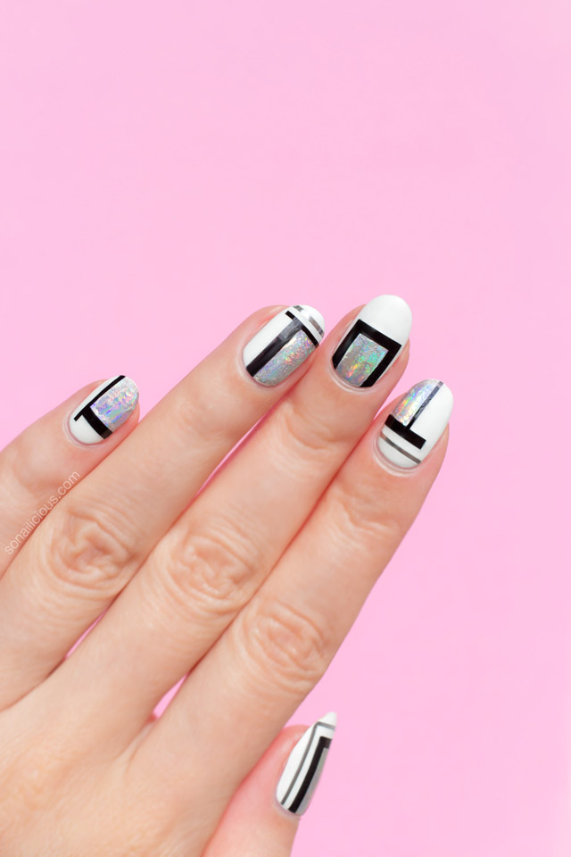 simple nail art, cool nail art