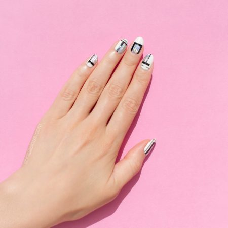 simple nail art, how to do nail art