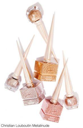 Christian Louboutin Metalinude summer 2017 nail polish colours