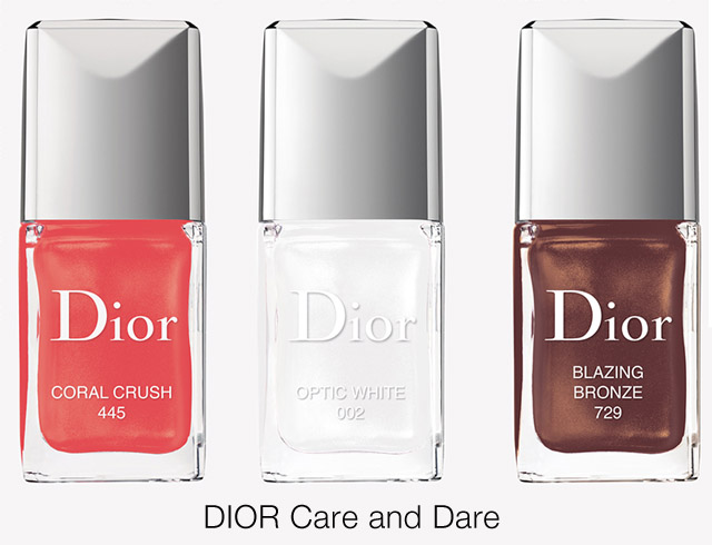 dior summer 2017 nail polish colours