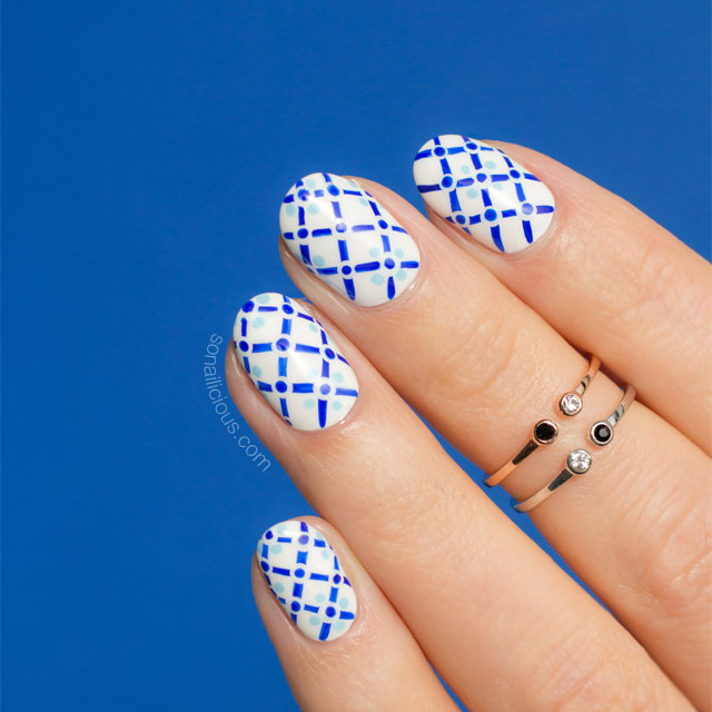 positano, summer nail art