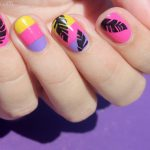 Tutorial: Tropical Vacation Nails