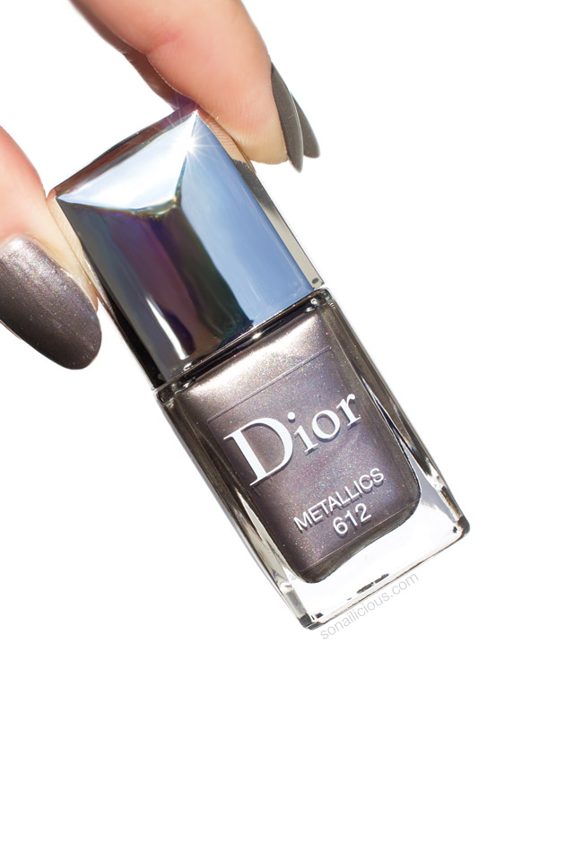 dior 612 metallics, metallic nail polish