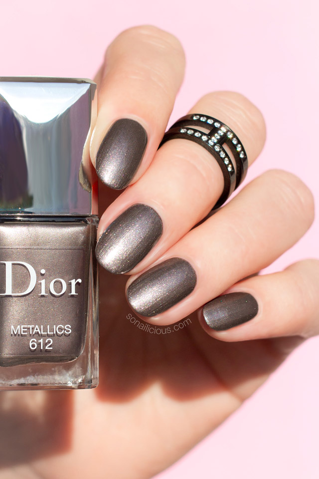 dior metallics review swatch, dior vernis