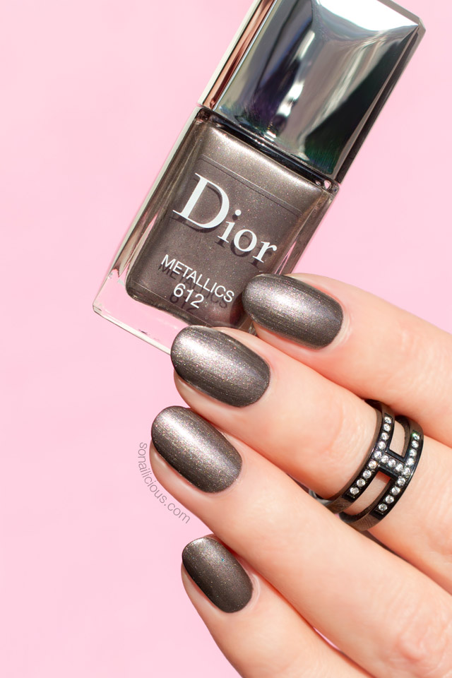 dior metallics swatch, dior nail polish