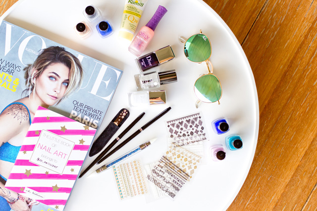 nail art essentials for beach vacation