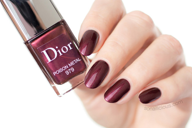 Dior Rouge Liquid nail polish review and swatches