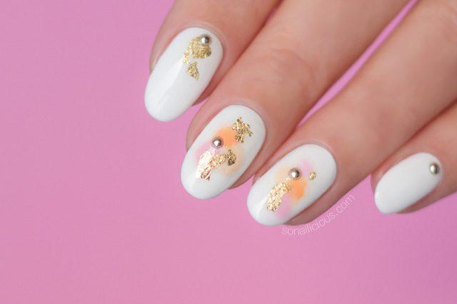 Watercolor Nails How To Sonailicious