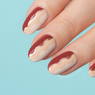 autumn nails how to