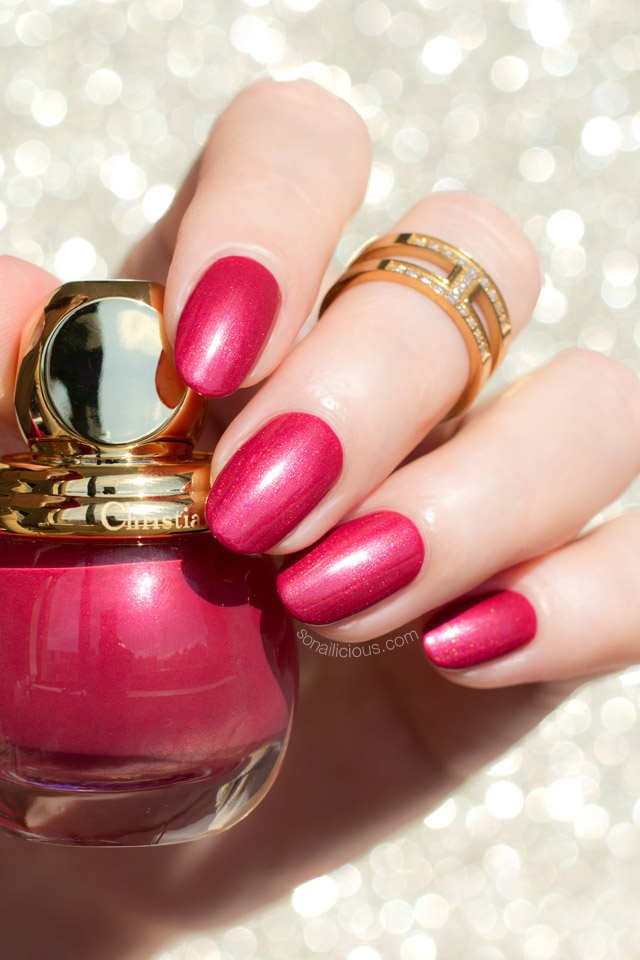 dior ruby, red dior nail polish